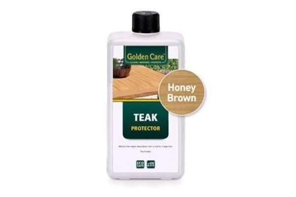 Bilde av Golden Care honningpigmentert Teak Protector - 1 liter
