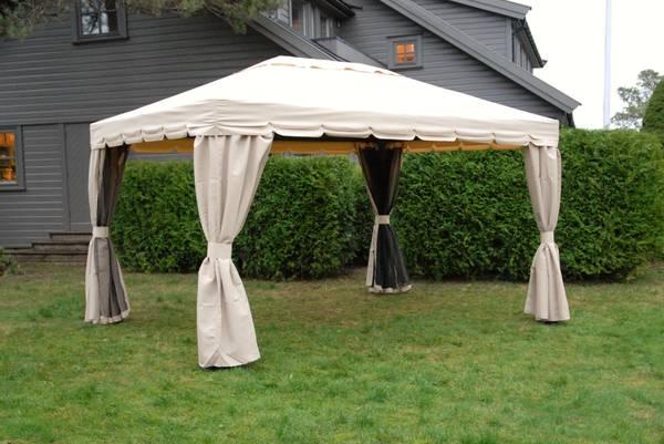 Bilde av Comfort komplett paviljong 3x4 m - beige