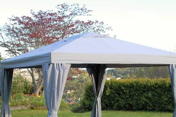 Bilde av Support tak til 3x4 m paviljong - grå