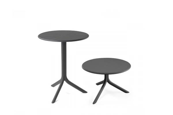 Bilde av Nardi Spritz høydejusterbart bord Ø60 cm - antrasittgrå